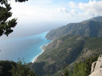 Вид на Ливийское море (остров Крит)