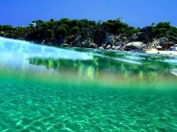 Пляжи полуострова Халкидики
