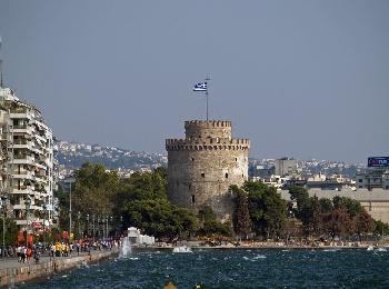 Ьелая Башня в Салониках