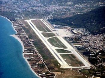 Взлетная полоса аэропорт Родос