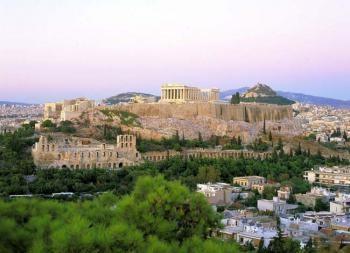 Легендарный город Афины - столица Греции