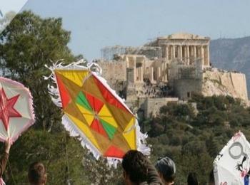 Легендарный афинский Акрополь
