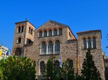Базилика святого Димитрия Салунского в Салониках