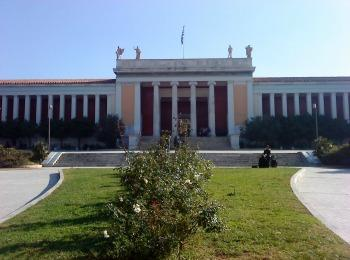 Здание Национального музея Афин