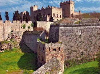 Столица острова Родос - город Родос в Греции