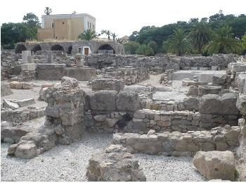 Древняя Агора, город Кос, Греция