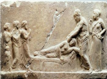 Асклепий -древнегреческий бог врачевания