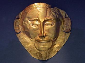 Посмертная маска Агамненона, Микены, Греция