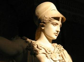 Статуя Афины, Греция