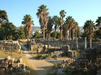 Дпевняя Агора, город Кос , Греция