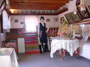 Экспозиция традиционного греческого дома в деревне Антимахия, Кос, Греция