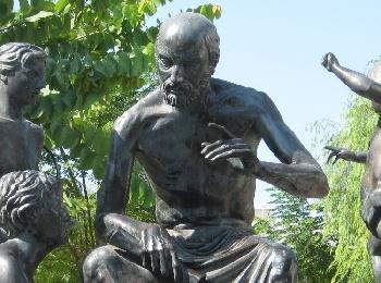 Памятник Гиппократу на Родине - острове Кос