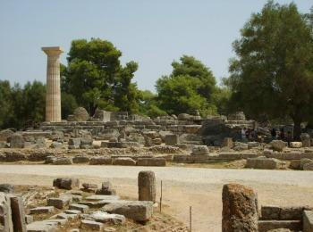 Древняя Олимпия, остров Закинф