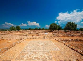 Древний город Олинфос, Халкидики, Греция