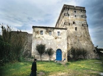 Монастырь на островке Строфадес, Закинф, Греция