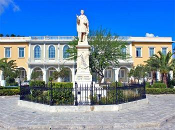 Площадь города Закинф, остров Закинф, Греция