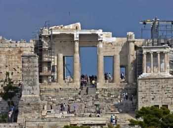 Пропилеи, Акрополь, Афины