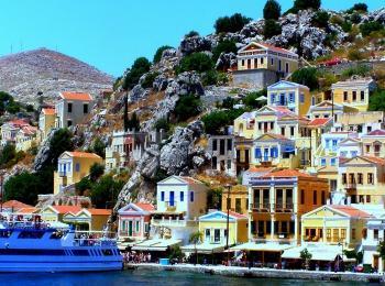 Остров Сми (Родос), Греция