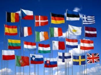 Флаги стран членов шенгенской зоны