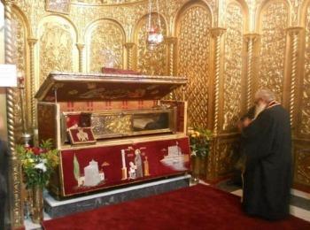 Рака св. Дионисия - небесного покровителя острова Закинф, Греция