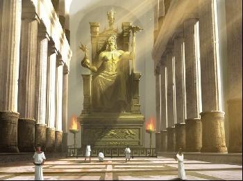 Храм Зевса в Олимпии (Древняя Греция)