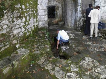 Источник святого Афанасия, Святая гора Афон