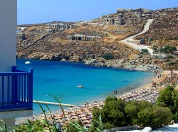 Пляж Парадайз, Миконос, Греция