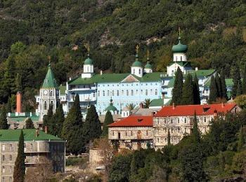 Монастырь Великомученика Пантелеимона, Святой Афон