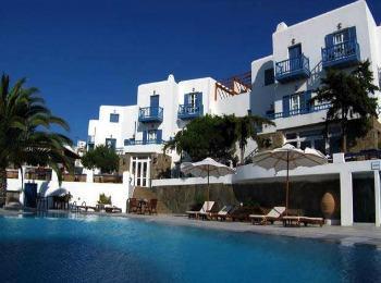 Отель Посейдон, Миконос, Греция
