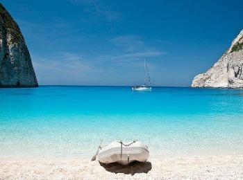 Пляж бухты Навагио, Закинф, Греция