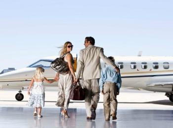 Путешествие самолётом