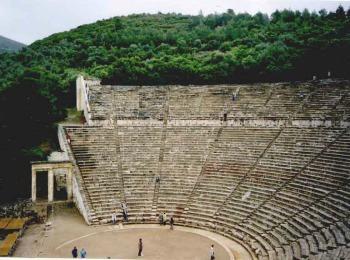 Древний театр Эпидавр, Греция