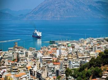 Город Патры, Пелопоннес, Греция