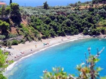 Пляж Кардамили, Пелопоннес, Греция