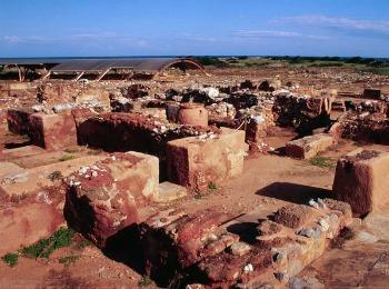 Раскопки Минойского дворца в Малии, Крит