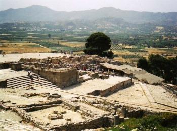 Дворец в Фесте, Крит, Греция