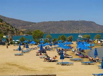 Пляжи курорта Элунда, Крит