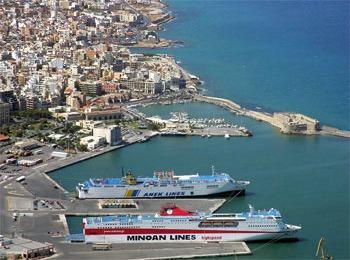 Порт Ираклиона, остров Крит