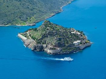 Остров Спиналонга, Крит