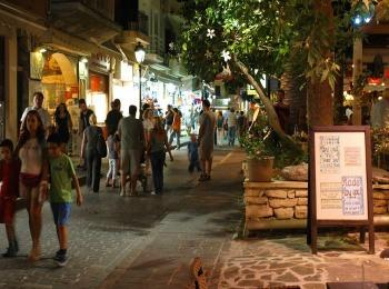 Улочки курорта Ретимно, Крит