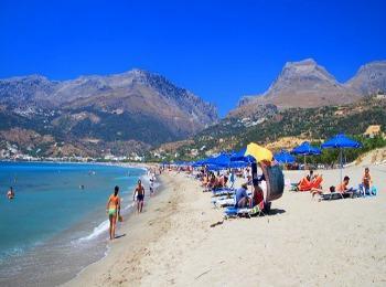 Курортное местечко Плакиас, Ретимно, Крит