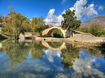 Дорога к монастырю Превели, Ретимно, Крит