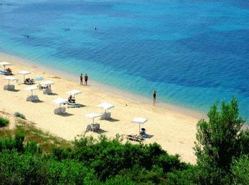 Пляж Калифеи, на полуострове Кассандра