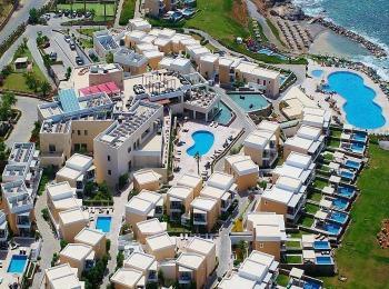 Вид отеля Sensimar Royal Blue Resor с высоты птичьего полёта
