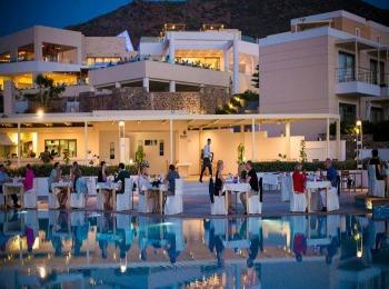 Вечер в отеле Sensimar Royal Blue, Ретимно, Крит