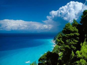 Греция, побережье, сентябрь