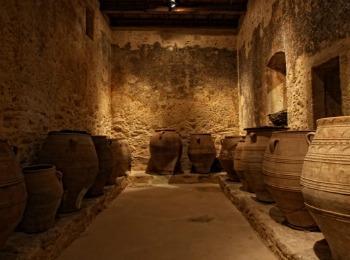 Древние сосуды для хранения масла
