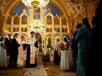 Венчание в греческой церкви