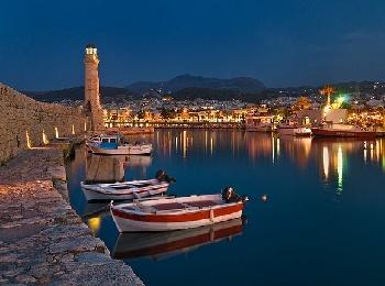 Старый порт, Ретимно, Крит