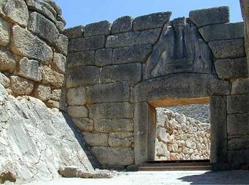 Львиные ворота, Микены